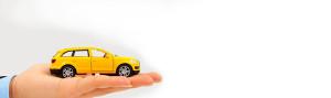 car on a hand