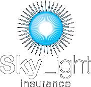 Sky Light Insurance Logo WHITE